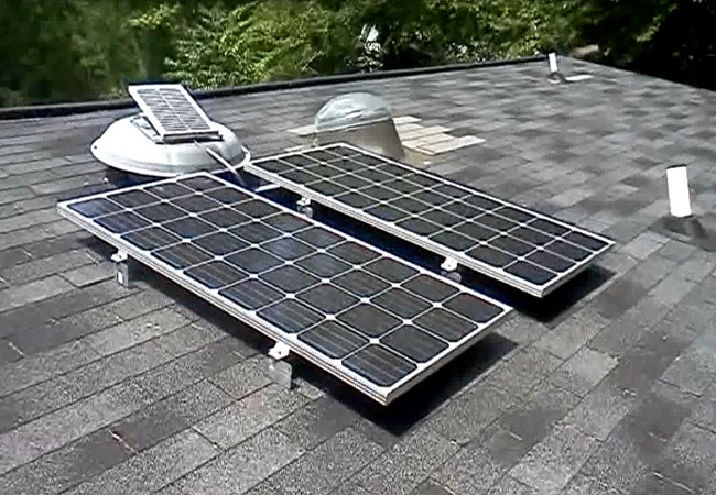 Course on grid connected pv systems design installation for Solar panel blueprint
