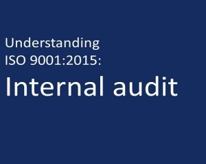 ISO 9001:2015 Internal Auditor
