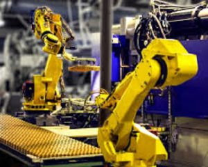 Manufacturing Automation using Robots